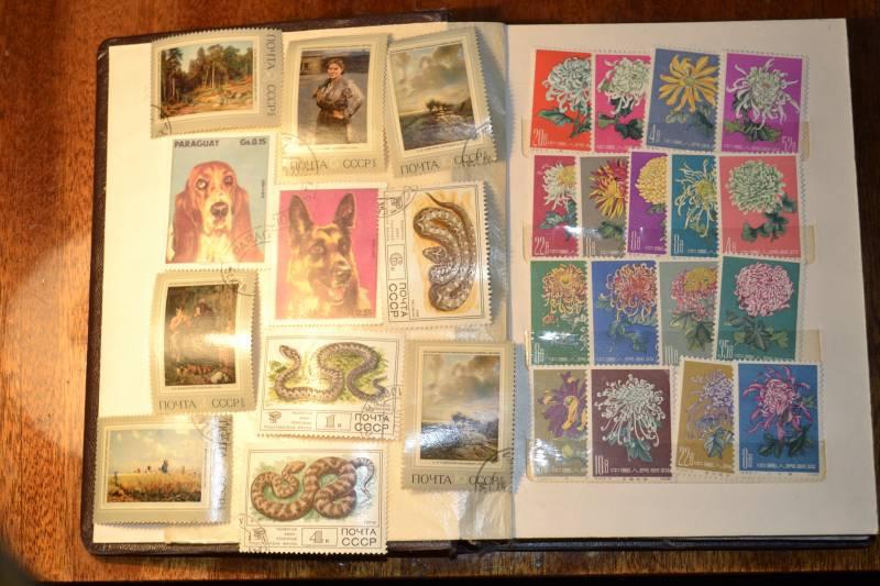 Продам почтовые марки.