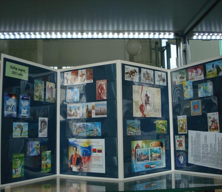 Годовой набор марок Беларуси за 2011 год